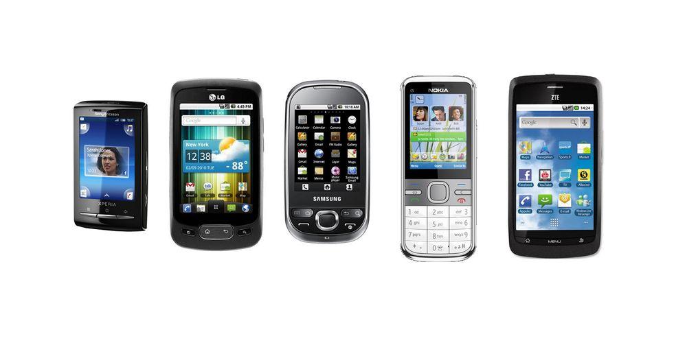 Smarttelefoner til under 1500 kroner