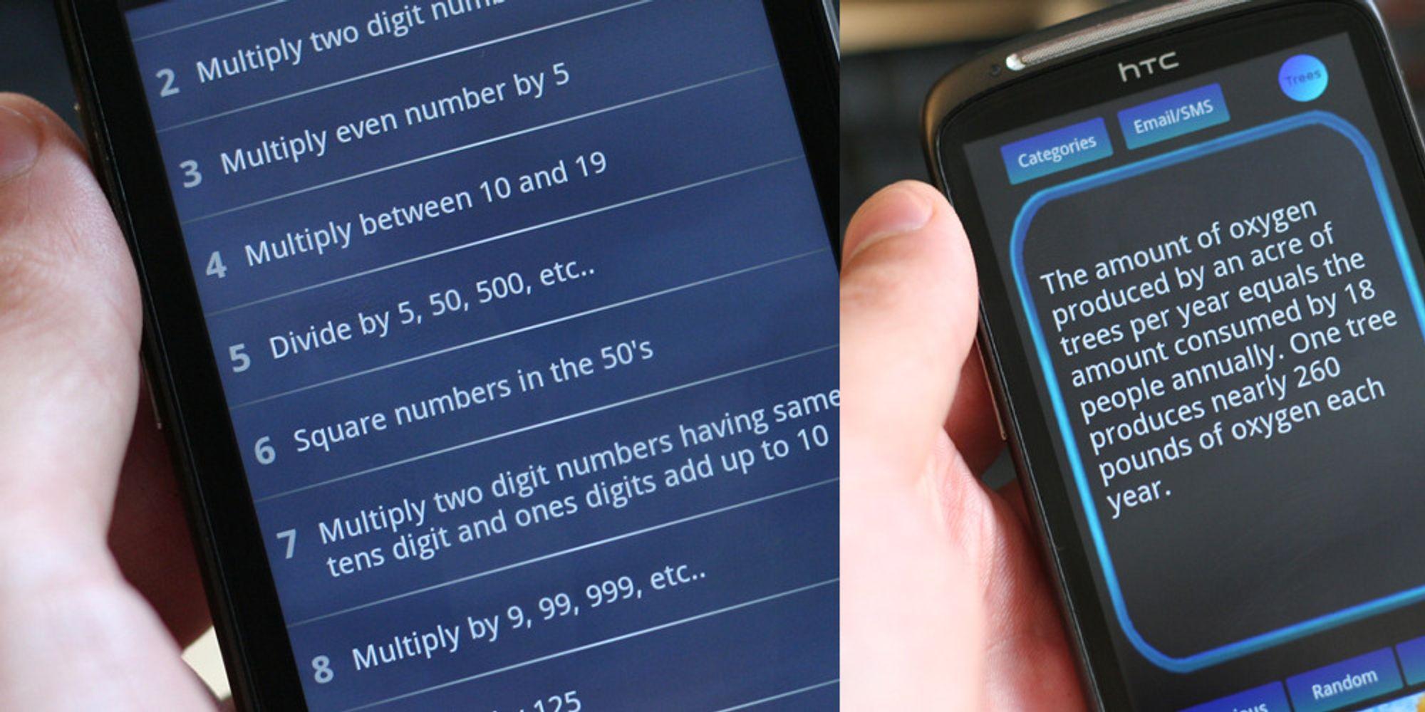 Minitest: Tre apper som gjør deg smartere