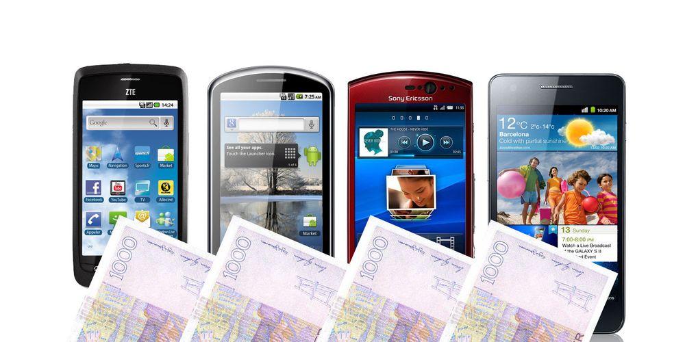 De beste smartmobilene til ditt budsjett