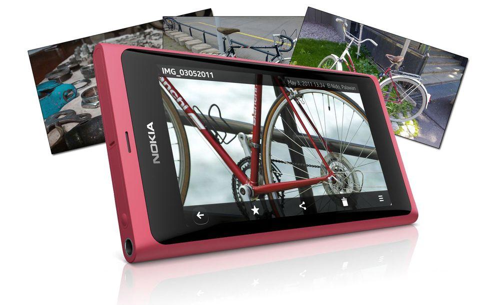 Disse bildene er tatt med Nokia N9