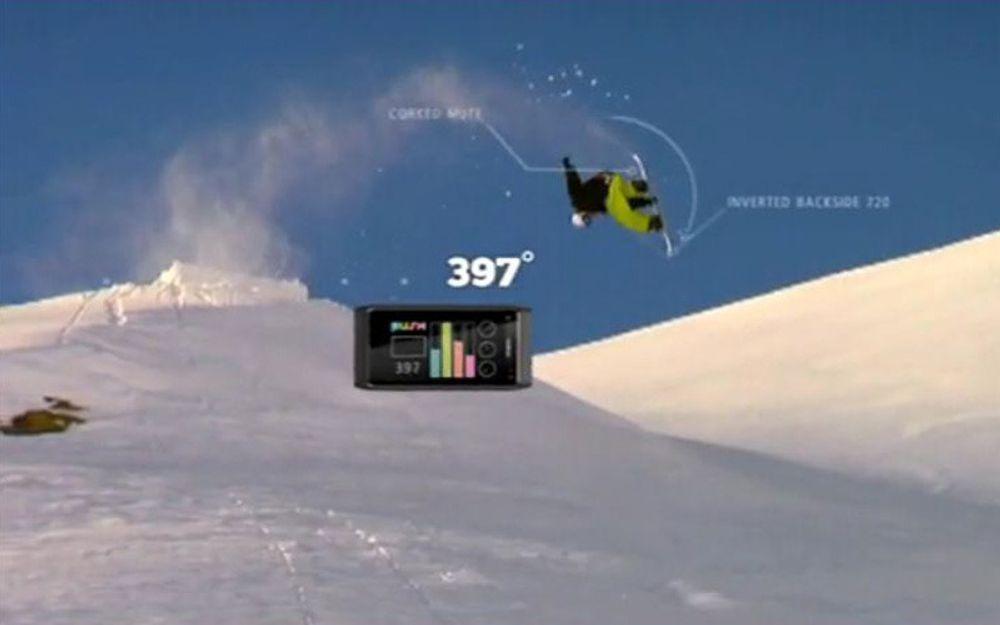 Nokia N8 skal registrere snowboard-triks