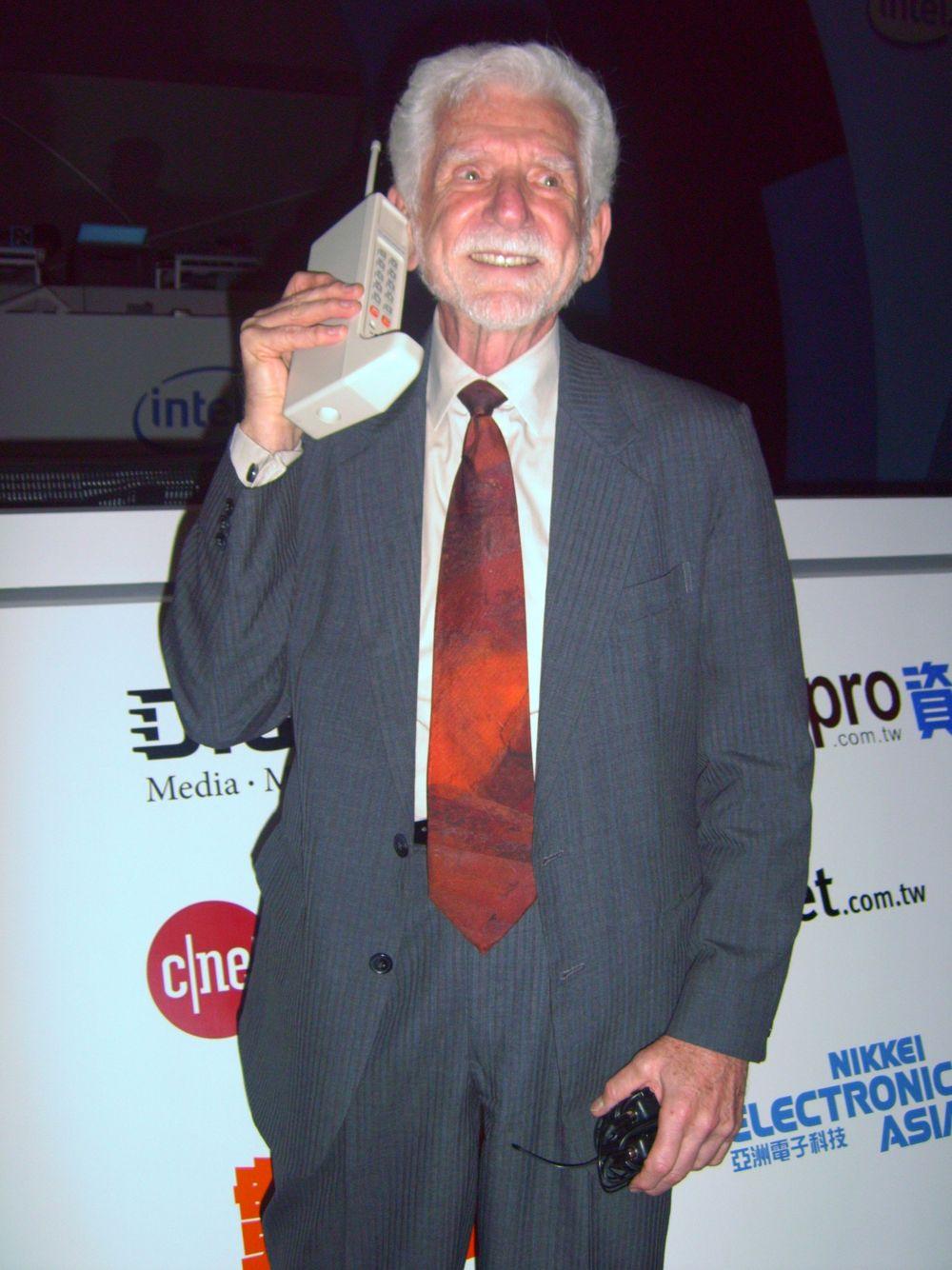 40 år siden den første mobilsamtalen
