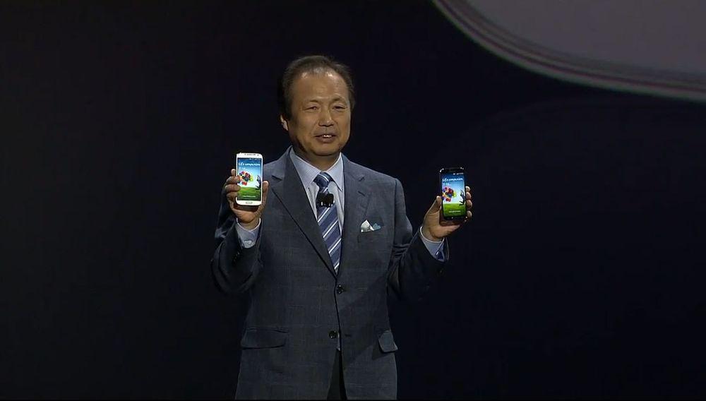 Samsung lanserer Galaxy S4