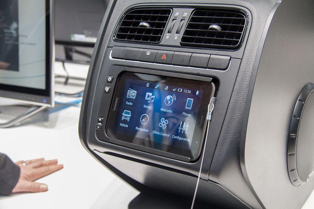 Denne erstatter bilradioen med Android