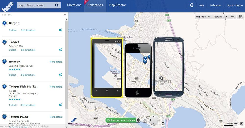 Nokia Maps skifter navn
