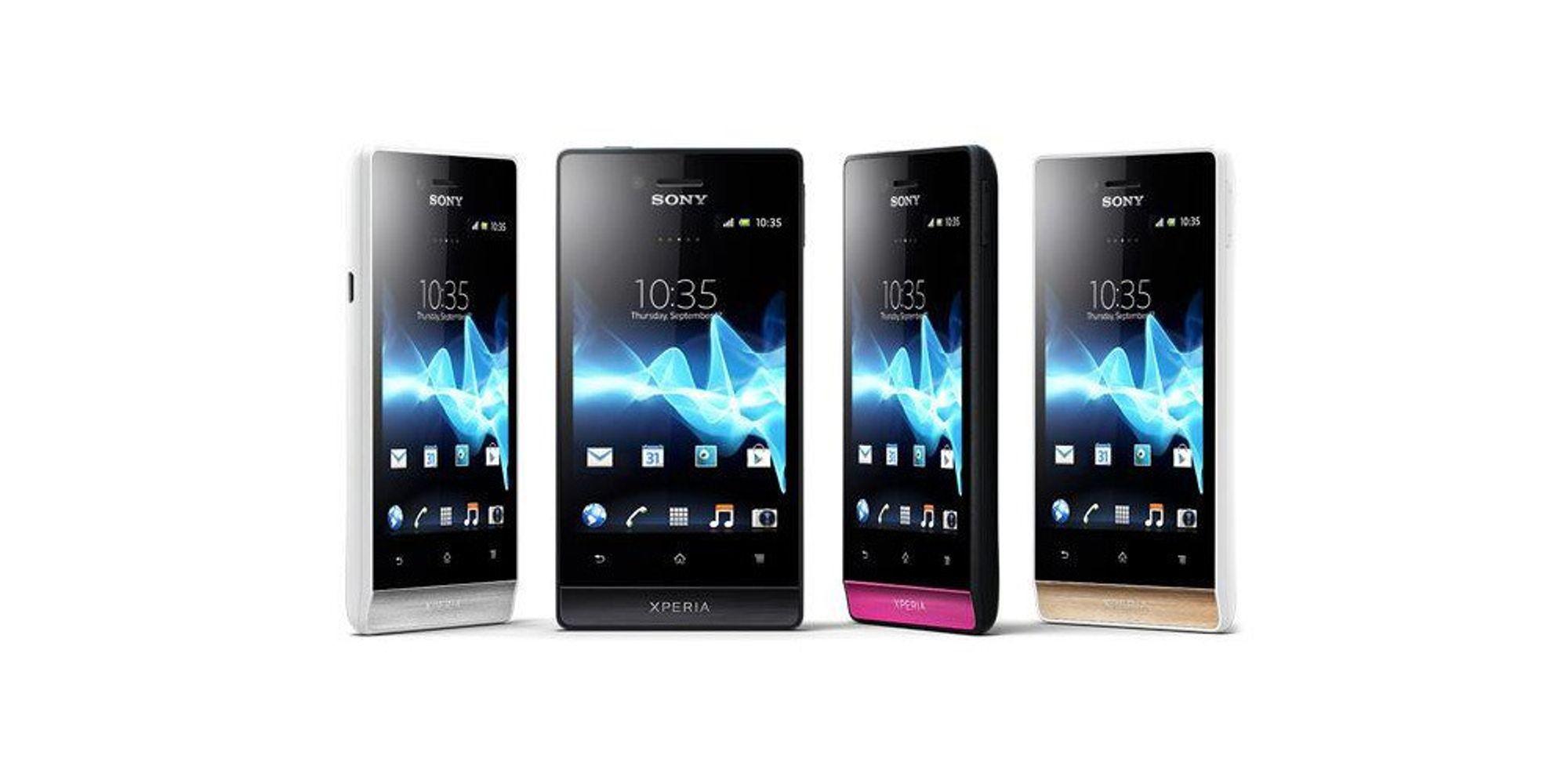Sony viser frem Xperia Miro