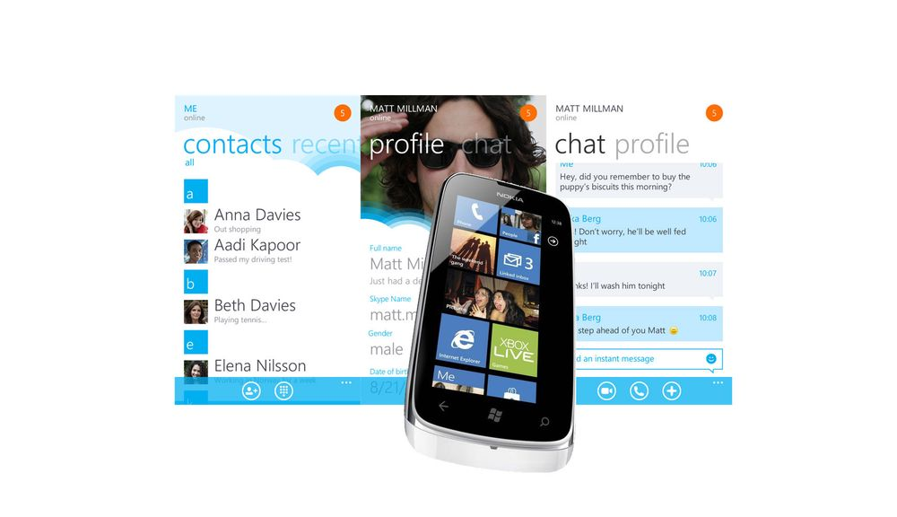 Ingen Skype for Lumia 610