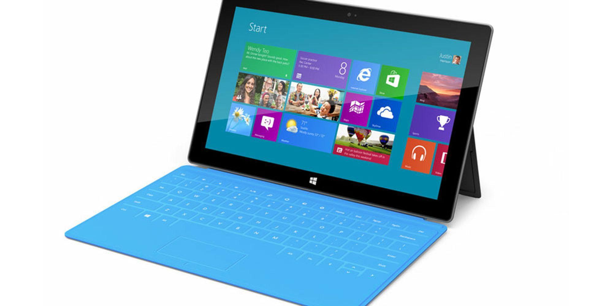 Microsoft lanserer Surface