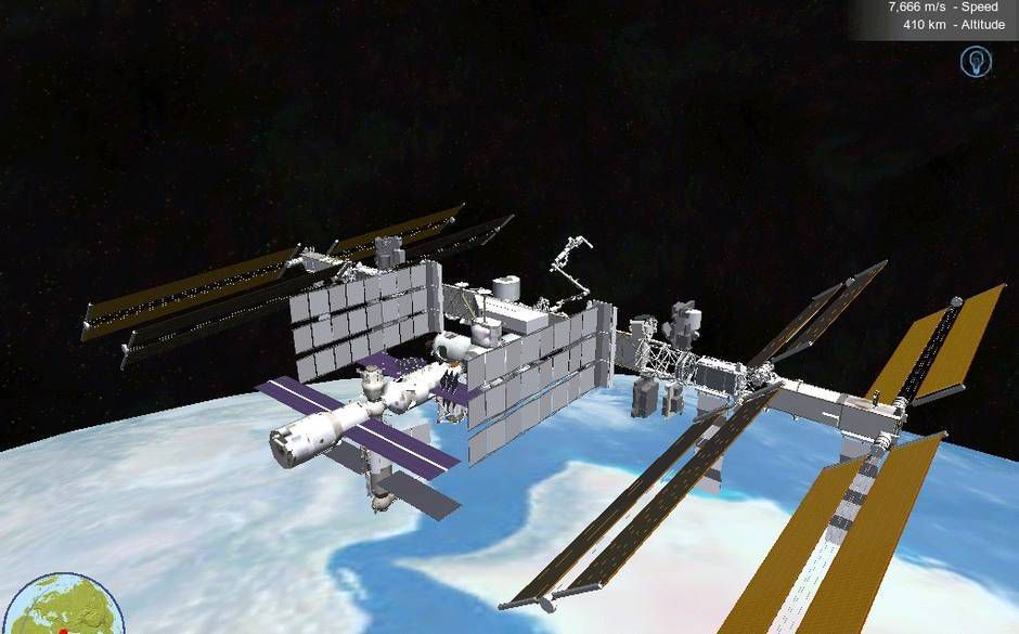 NASA-app lar deg følge romstasjonen live