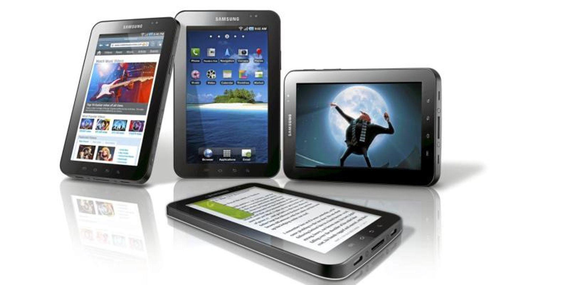 Ti grunner til å velge Samsung Galaxy Tab