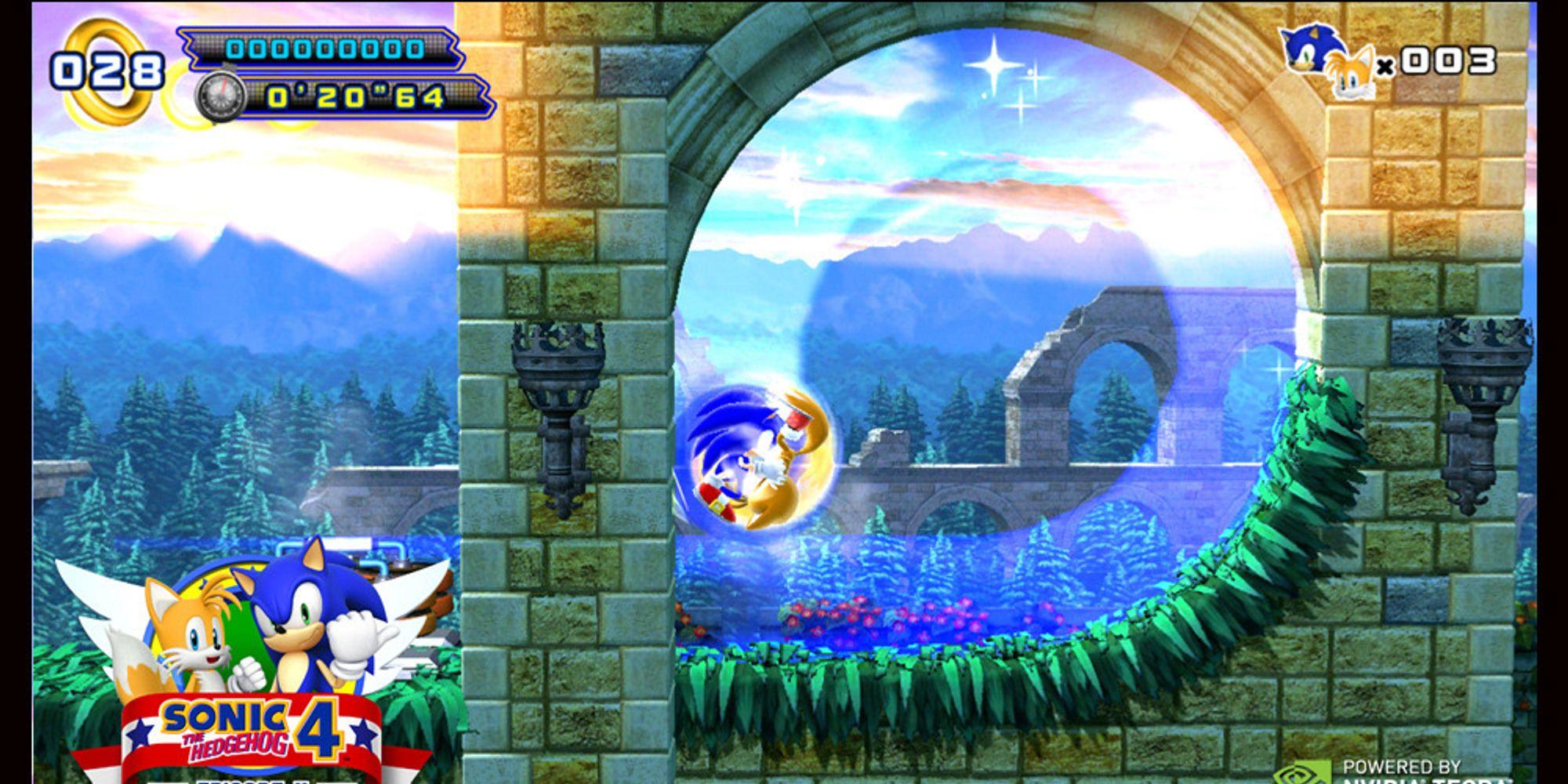 Sonic 4: Episode II ute til Tegra 3