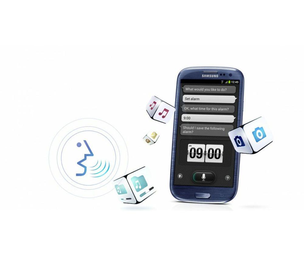 Samsung S-Voice lekker ut
