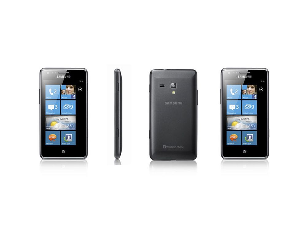 Samsung med ny Windows-mobil