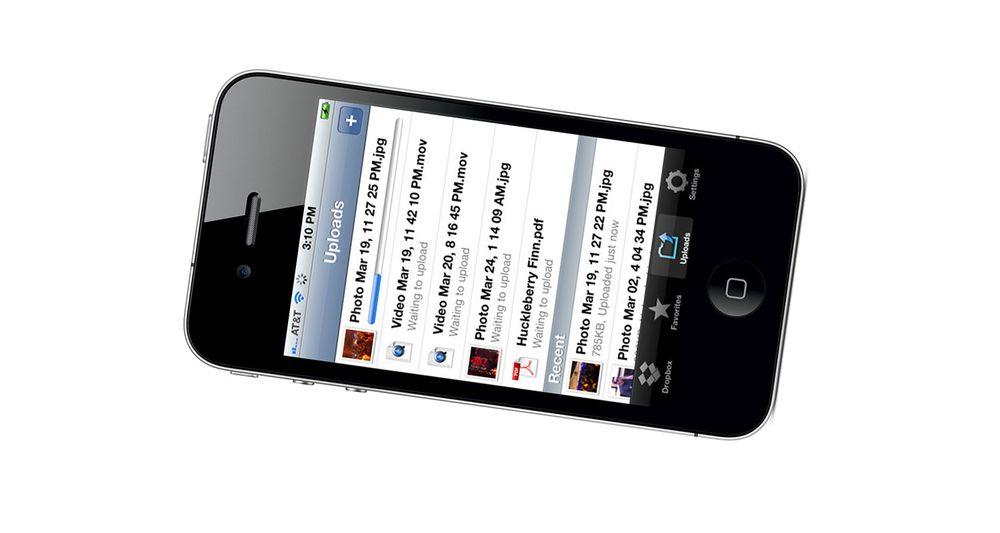Apple stopper Dropbox-apper