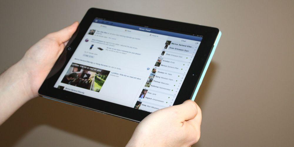 Slik skrur de sammen iPad