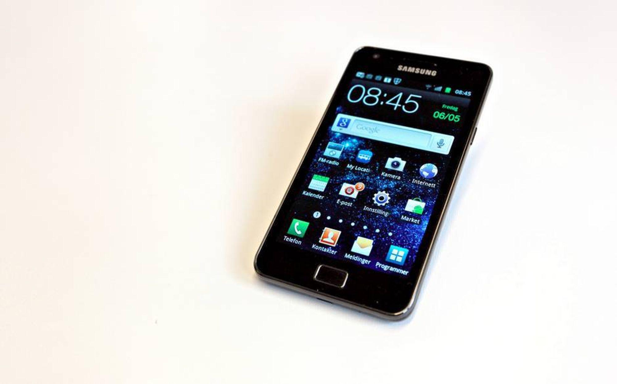 Samsung tar rotta på alle