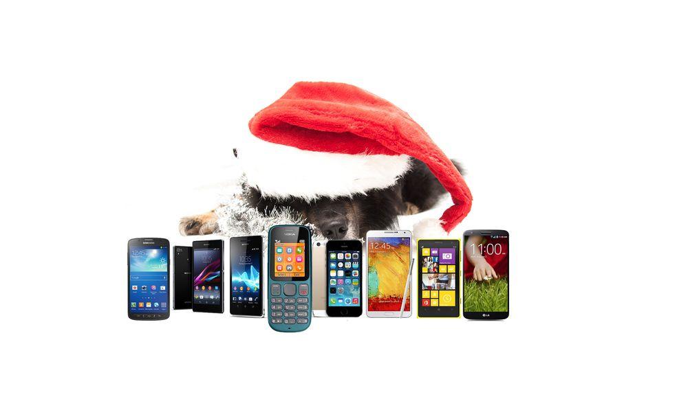 Skal du handle mobil i julegave?
