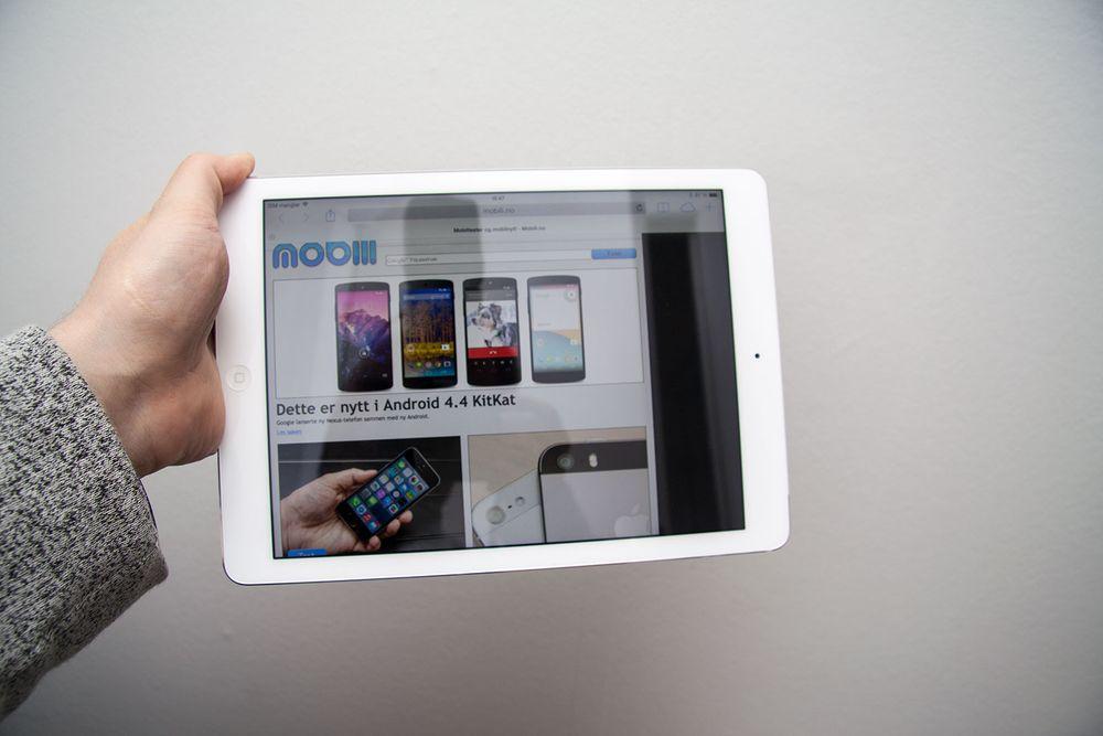 Førsteinntrykk: iPad Air