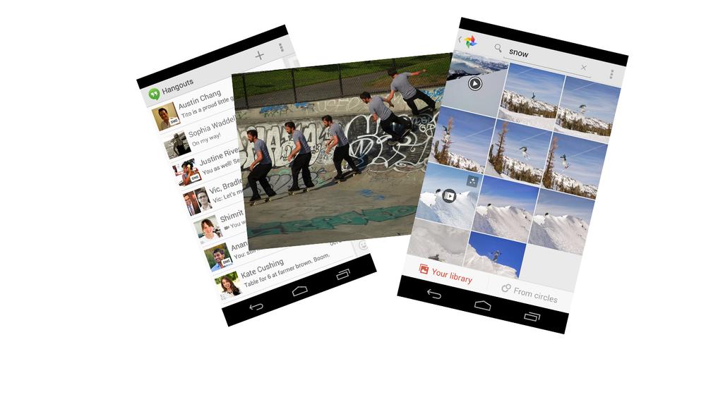 Google samler SMS i Hangouts