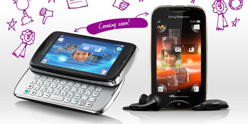 To nye fra Sony Ericsson
