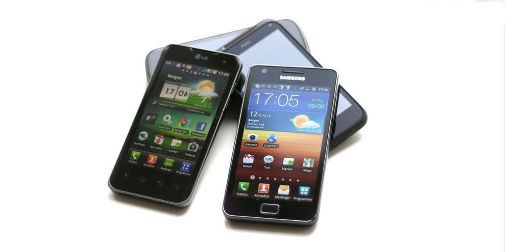 TEST: Så sterk er Samsung Galaxy S II