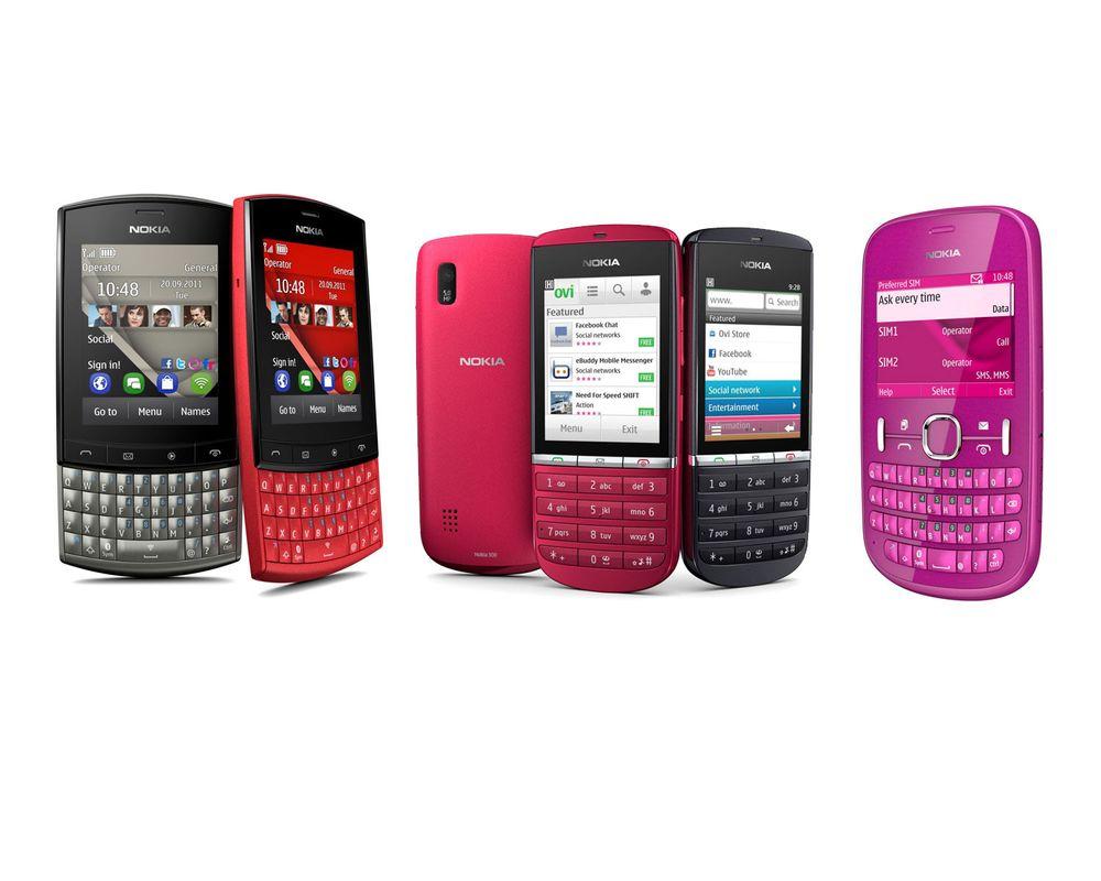 Nokias nye Asha-serie