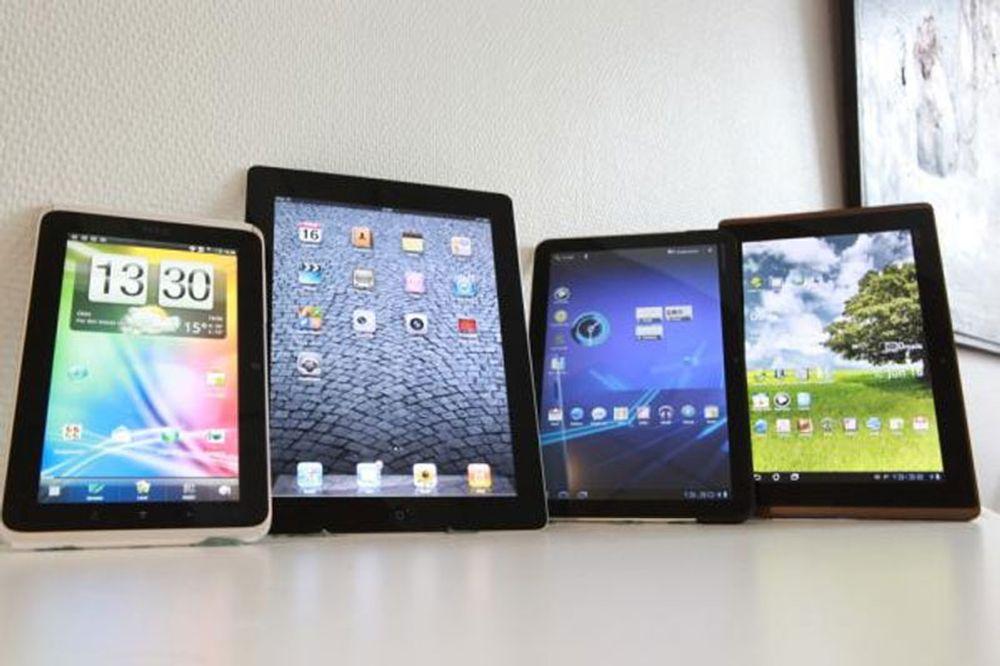 To av tre var en iPad
