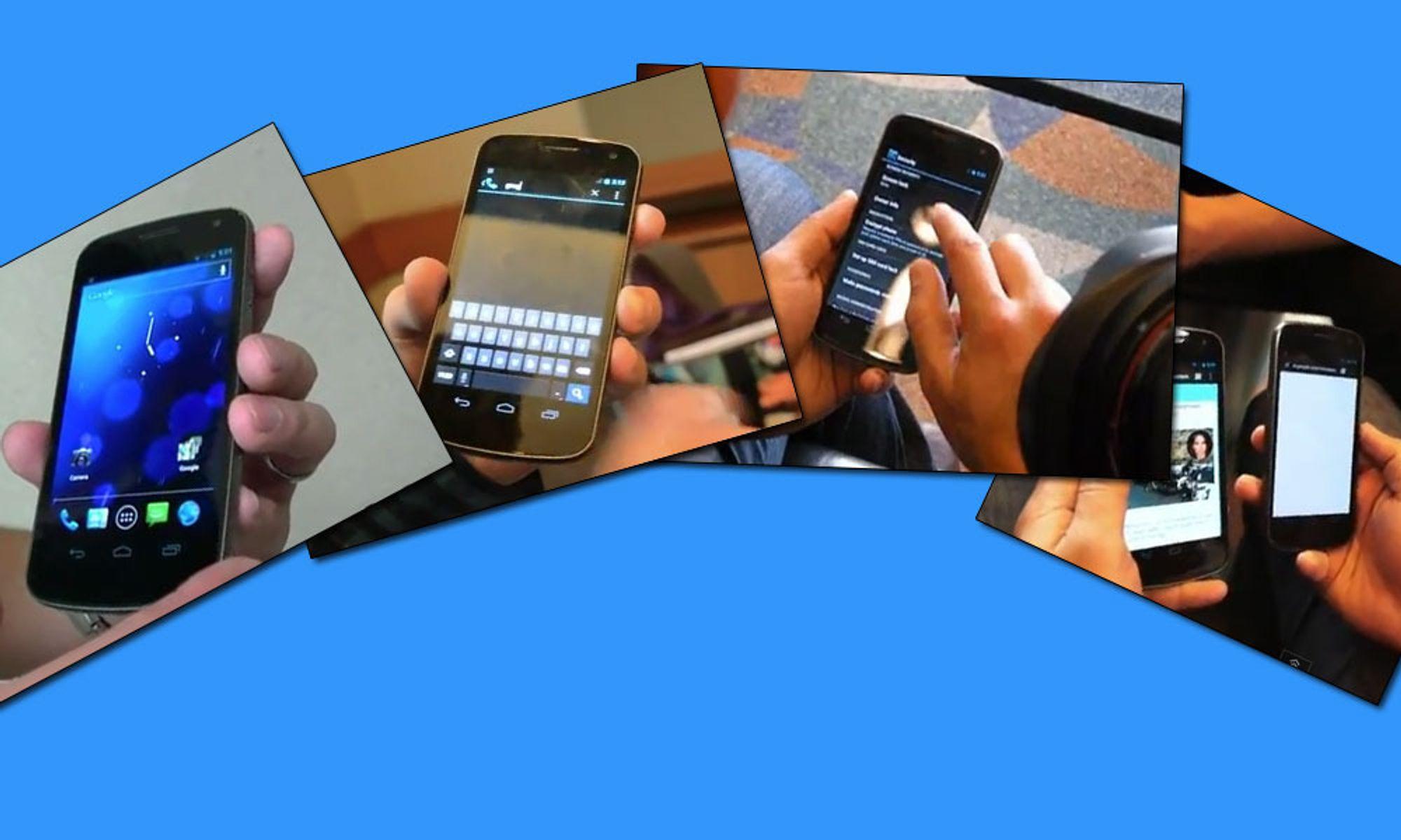 Se videoer av Galaxy Nexus