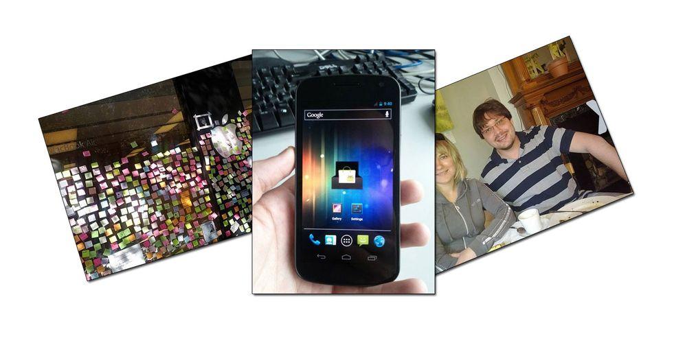 Disse bildene er tatt med Galaxy Nexus