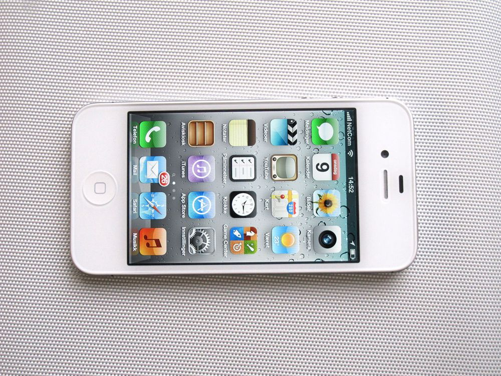 Test av Apple iPhone 4S