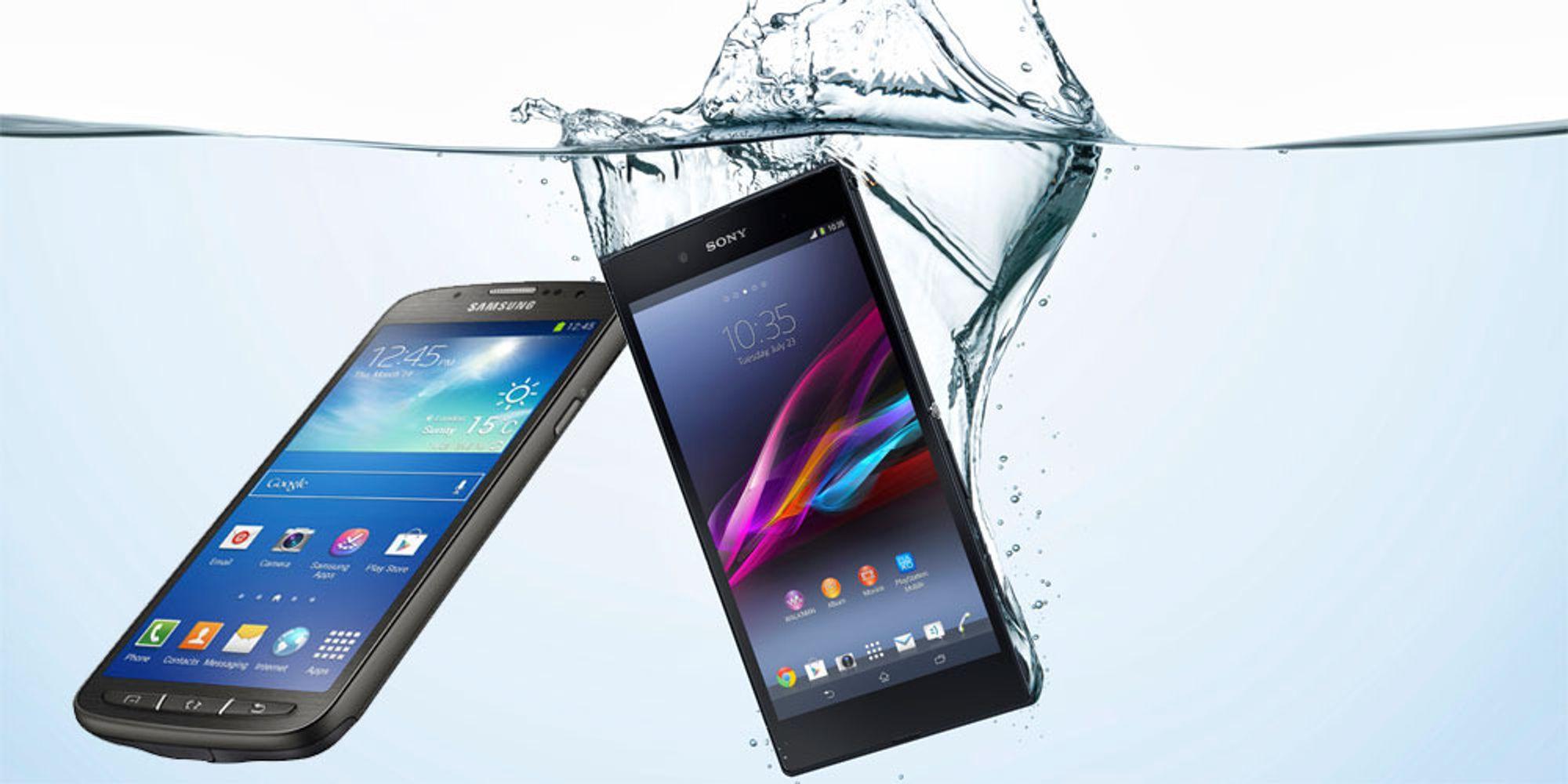 Duell: Den beste vanntette mobilen