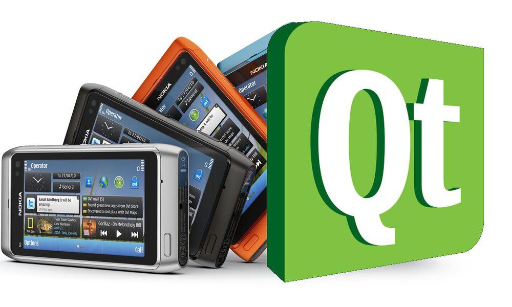 Nokia selger QT