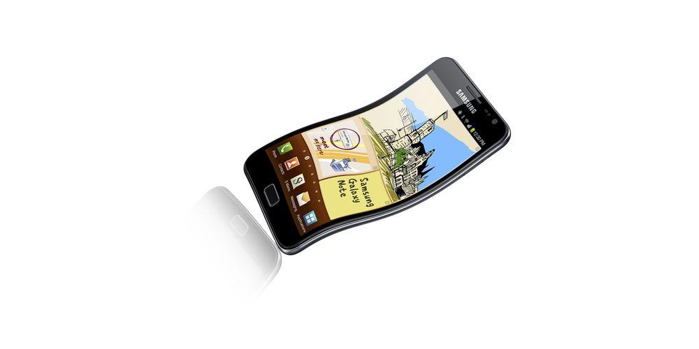 - Galaxy Note 2 får fleksibel skjerm