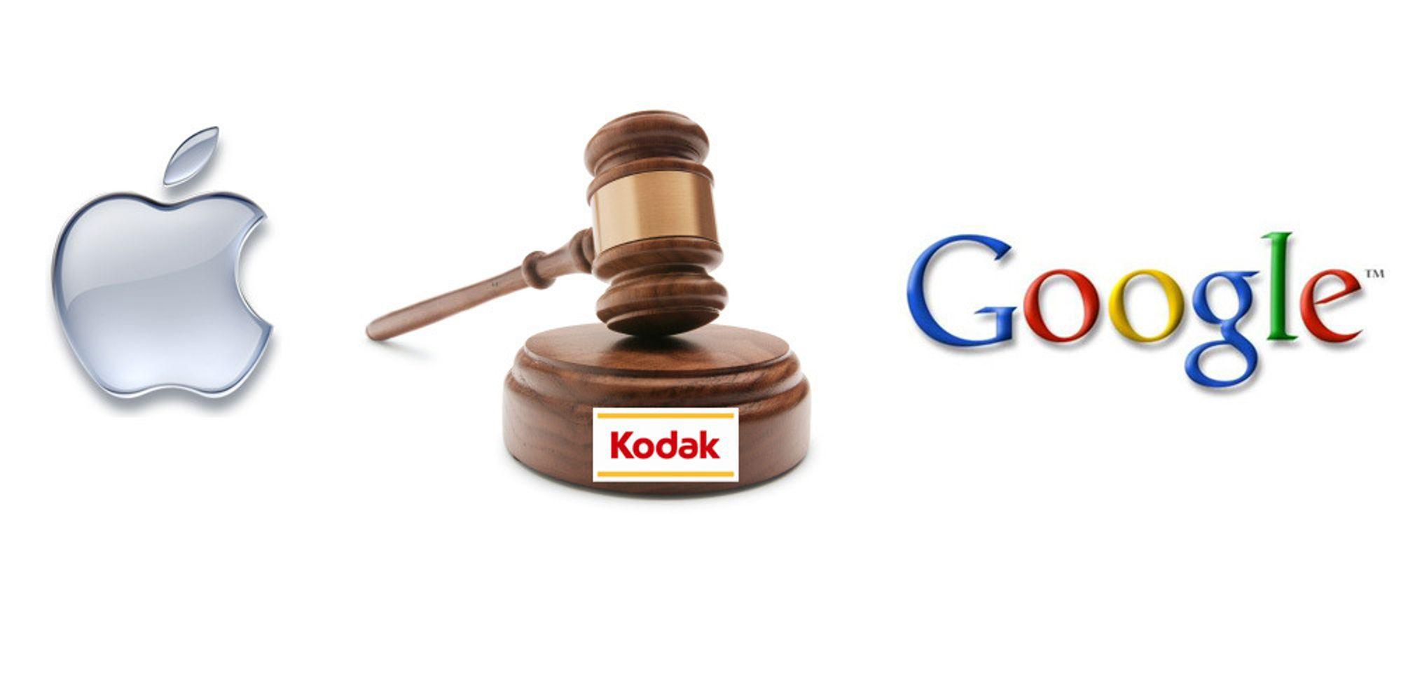 Apple og Google slåss om Kodak-rettigheter