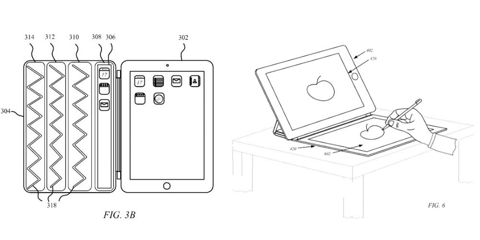 Apple vil lage iPad-deksel med skjerm