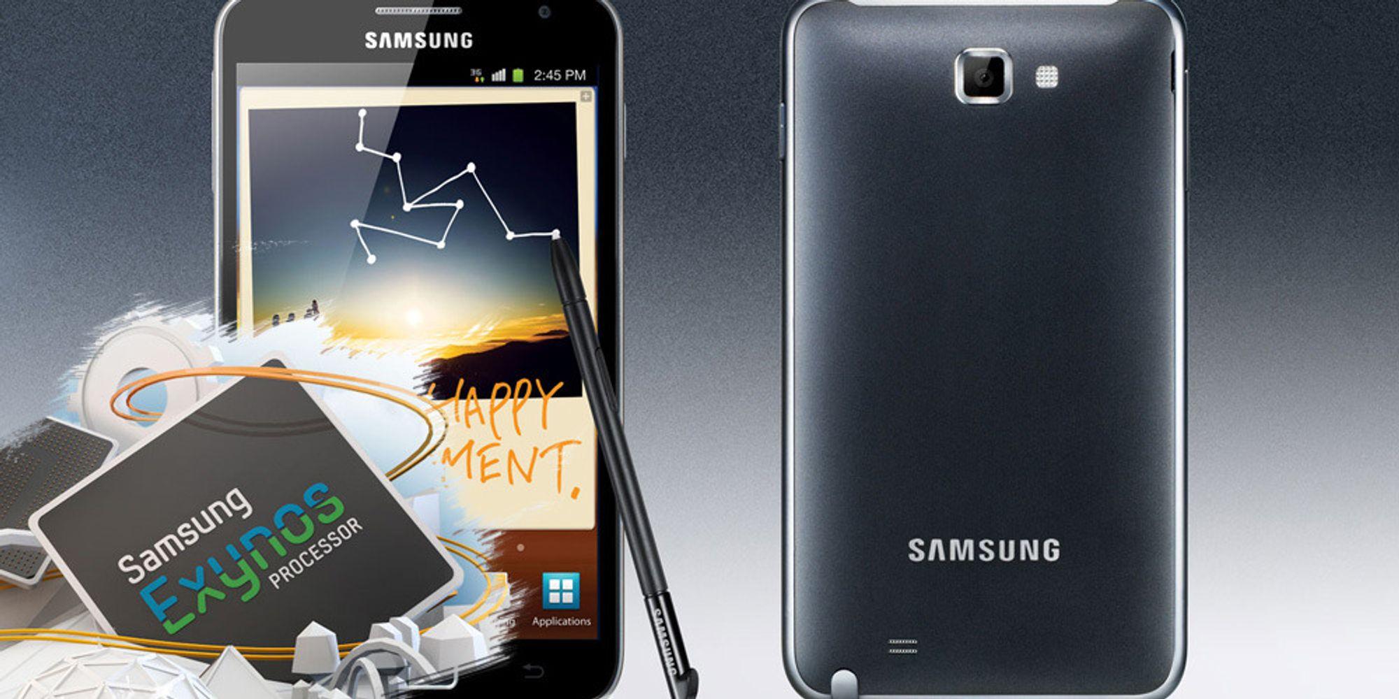 Slik blir Samsung Galaxy Note II