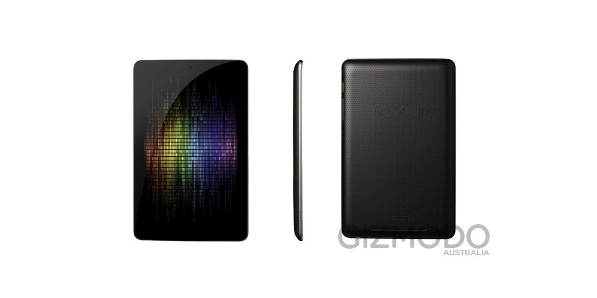 Google Nexus 7 er avslørt