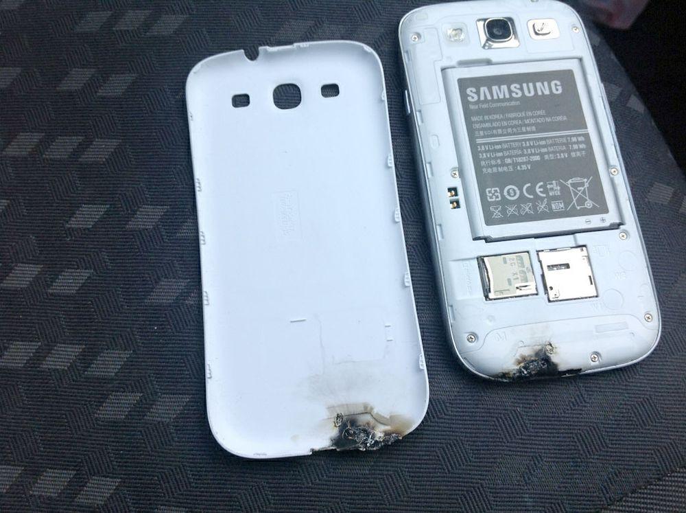 Galaxy S III tok fyr