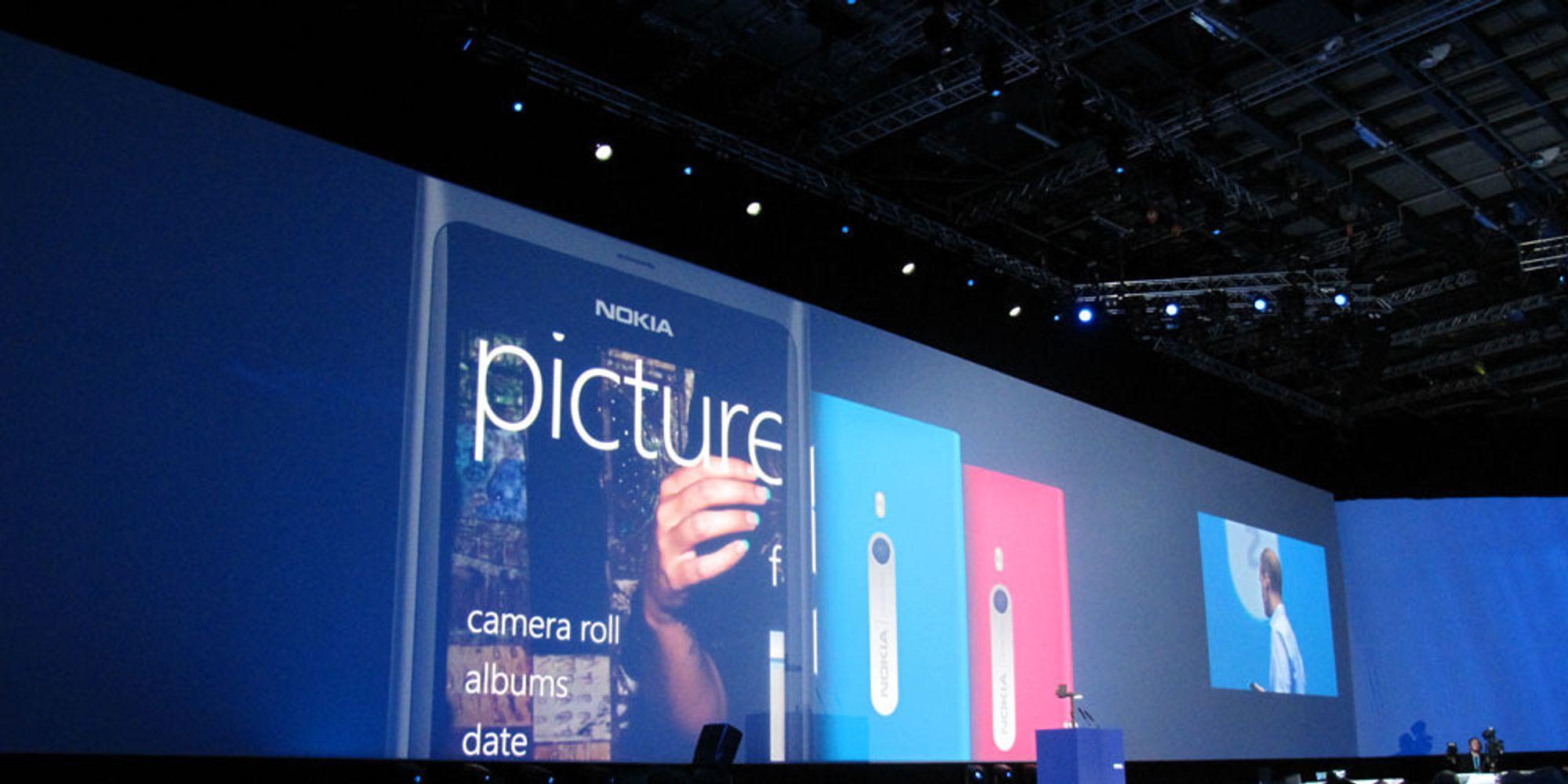 - Nokia selger lite Lumia