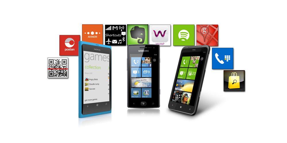 Over 100 000 apper på Windows Phone