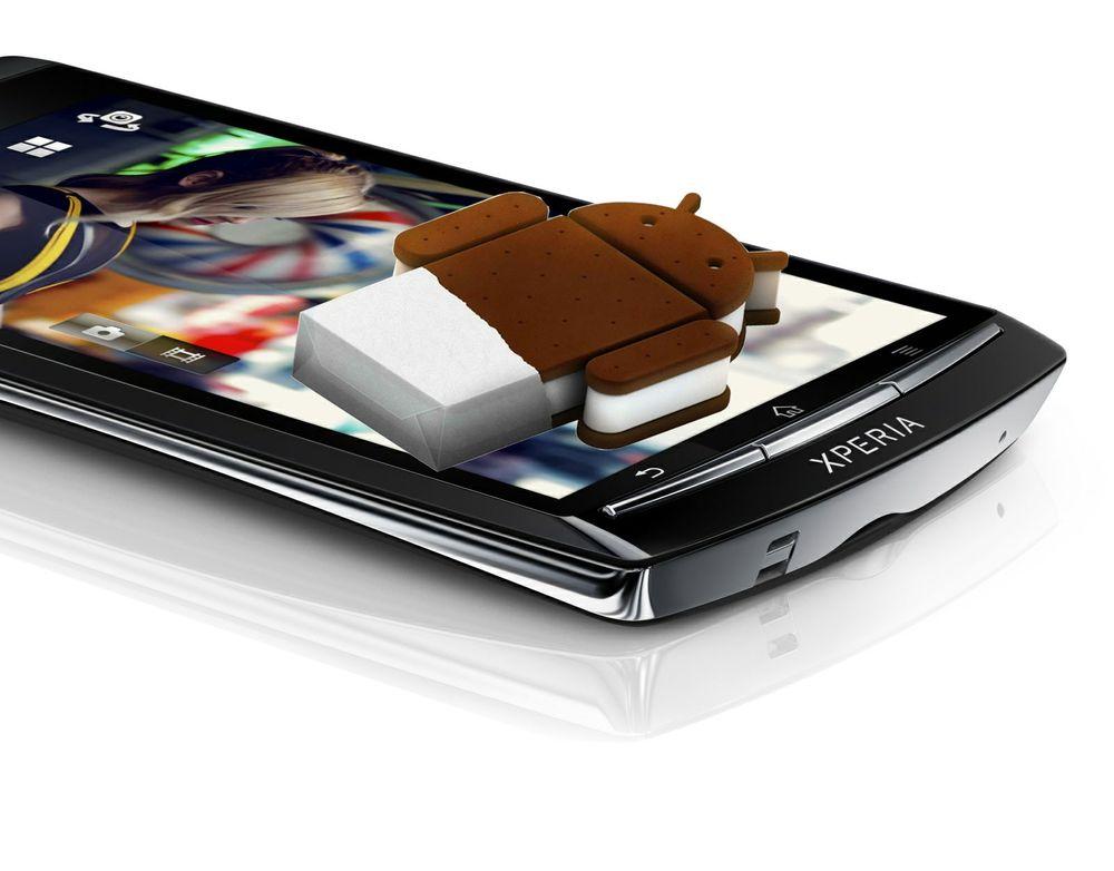 Nå kommer Android 4.0 til flere Xperia-modeller