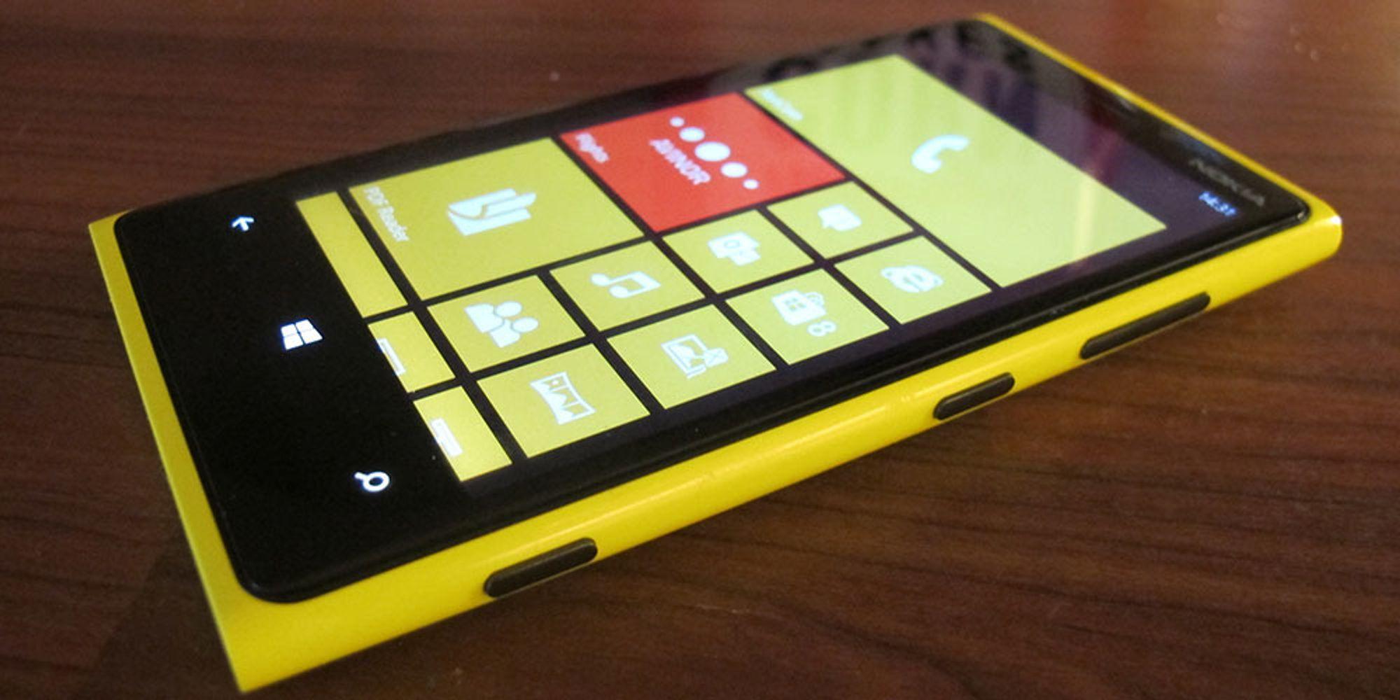 TEST: Test: Nokia Lumia 920