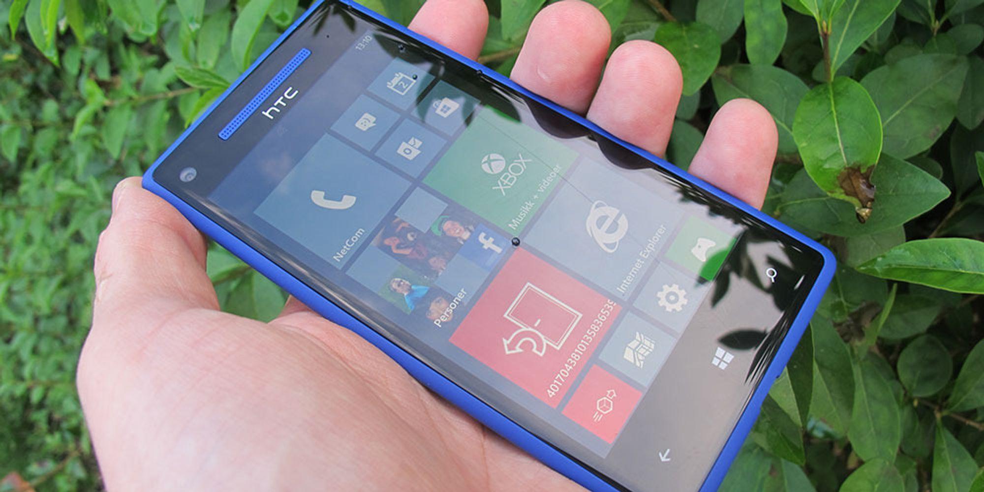 Test: Windows Phone 8X by HTC