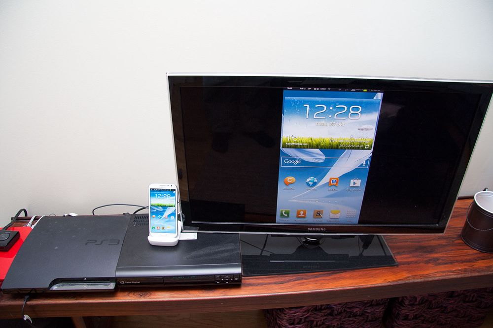 TEST: TEST: HDMI-dokking til Galaxy Note II