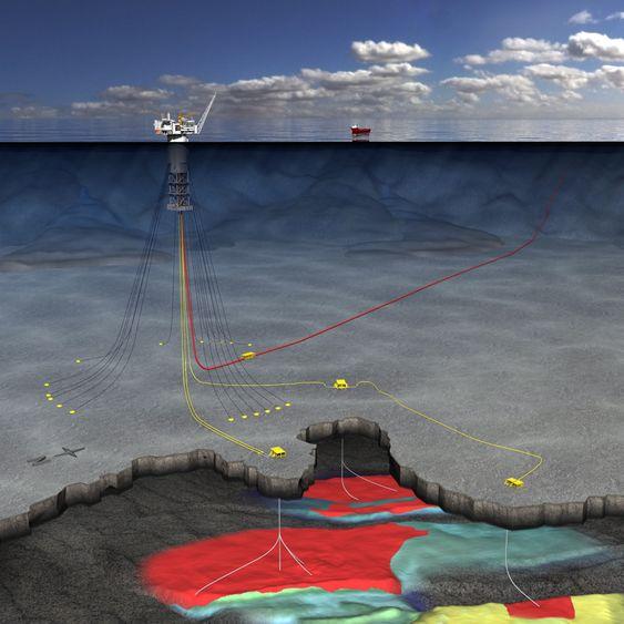 Dypt: Havdypet er på hele 1300 meter på Aasta Hansteen. Det er den hittil dypeste subseautbyggingen på norsk sokkel. Aker Solutions ska levere subseautstyret. Kværner skal bistå Technip med oppankring av spar-plattformen.