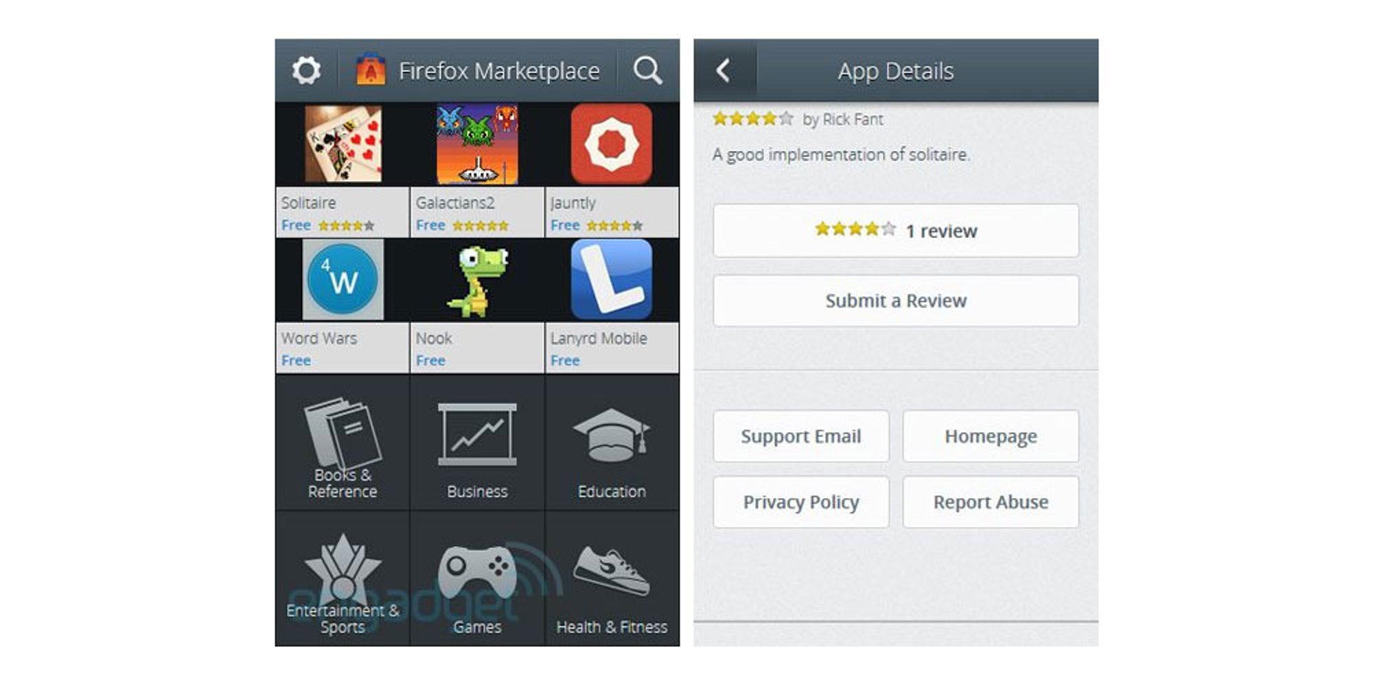 Her er Mozillas app-butikk