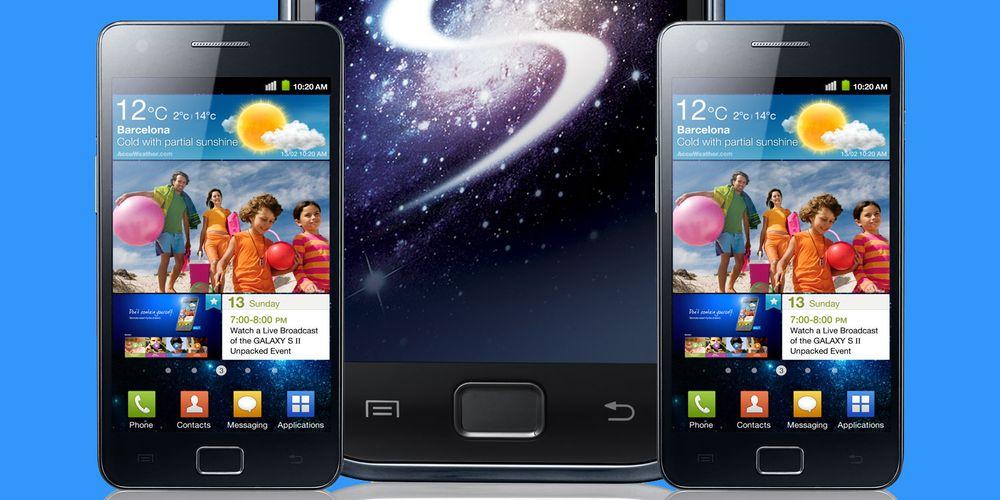 Samsung Galaxy S II nærmer seg
