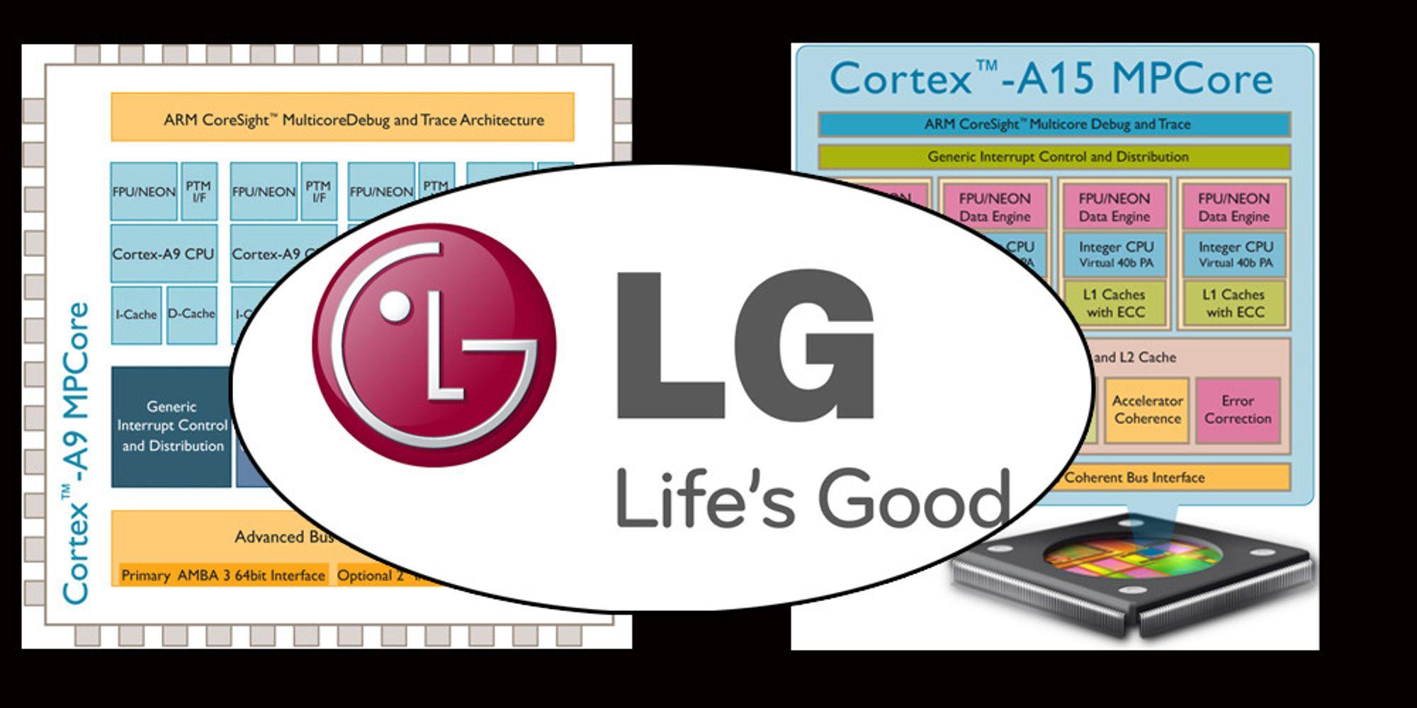 LG vil lage mer av mobilene sine selv