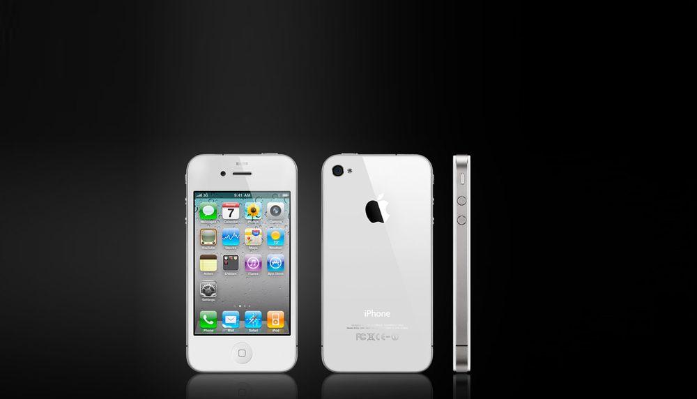 Venter du på hvit iPhone?