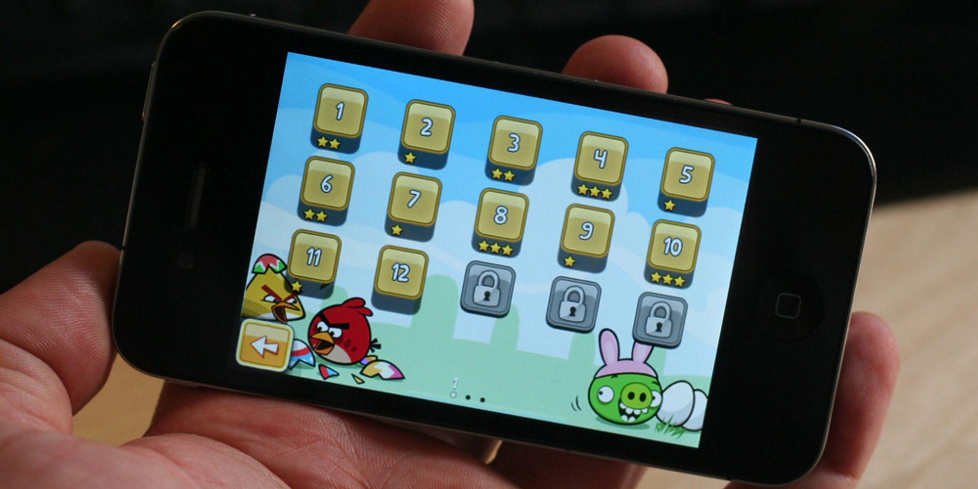 Påskeversjon av Angry Birds (selvfølgelig) tilgjengelig